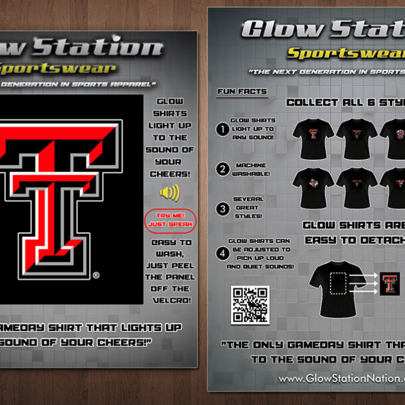 Glow Station Product Information Sheets