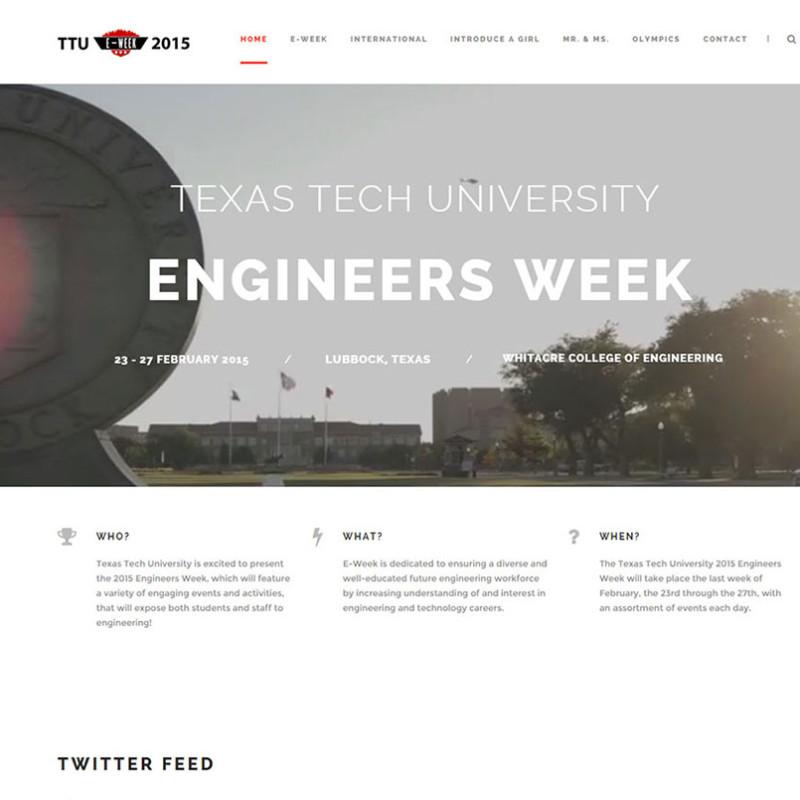 Texas Tech Engineers Week